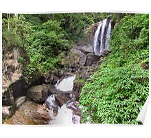 SRI LANKAN WATERFALLS. 3 Poster