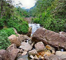 SRI LANKAN WATERFALLS. 4 by ronsaunders47