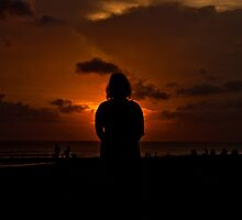 Sunset silhouette   by Keith Irving