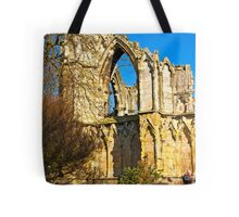 Ruins of St Mary's Abbey  -  York #2 Tote Bag