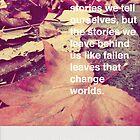 Autumn Words by Emraldae