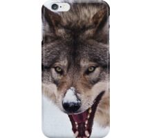 Snarling Wolf iPhone Case/Skin