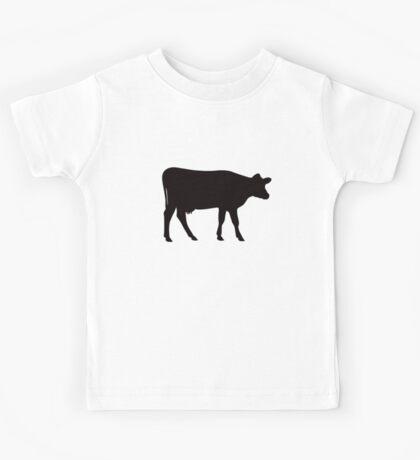 Cow silhouette Kids Tee