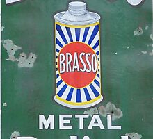 Brasso Metal Polish old signage by MartynJames