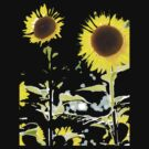 Sunny and Bright, art in a T ! by Melinda  Ison - Poor