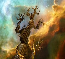 Trees III:  Reaching For the Stars by Bunny Clarke