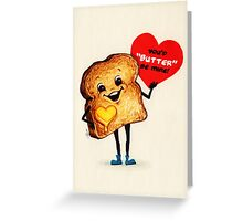 Toast Valentine Greeting Card