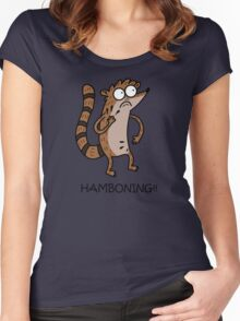 Hamboning!!! Women's Fitted Scoop T-Shirt