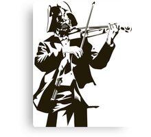 Vader Violin Canvas Print