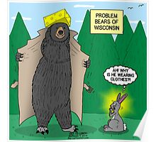 Problem Bears of Wisconsin Poster