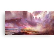 Project Kunai, Environment concept Canvas Print
