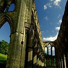 Rievaulx abbey ii by NUNSandMoses