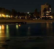 Colloroy Beach NSW Long Exposure by Tony Lin