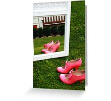 Pretty Pink Ribbon Greeting Card