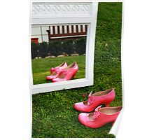 Pretty Pink Ribbon Poster