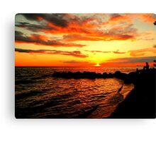 Just Beyond the Sunset Canvas Print