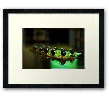 Power Cell Framed Print
