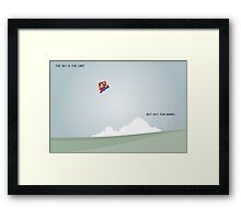 Funny Mario Picture Framed Print