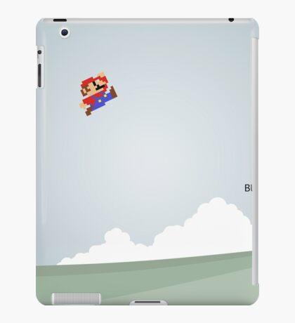 Funny Mario Picture iPad Case/Skin