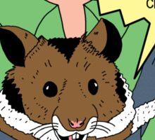 Seeing-Eye Hamster Sticker