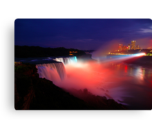 Niagara Falls-American Side Canvas Print