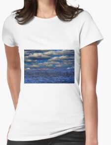 IT'S A BLUE DAY Womens Fitted T-Shirt