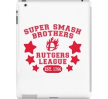 Super Smash Bros. Rutgers League iPad Case/Skin