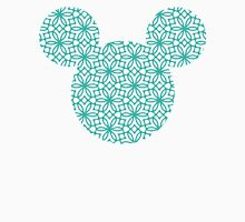 Mouse Turquoise Geometric Silhouette Unisex T-Shirt