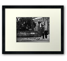 Daily ritual Framed Print