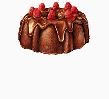 Chocolate Bundt Cake Pattern Unisex T-Shirt