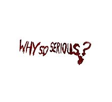 Why so serious? by zknuth