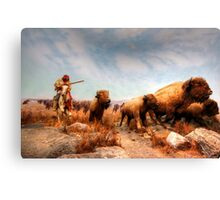 Buffalo Hunt Canvas Print