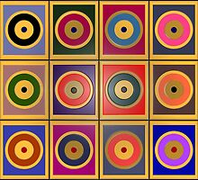 Rectangles & Circles #8 by rontrickett