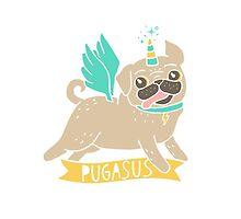 Pugasus by Amy Grace