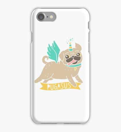 Pugasus iPhone Case/Skin