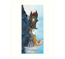 The Driver and His Castle Art Print