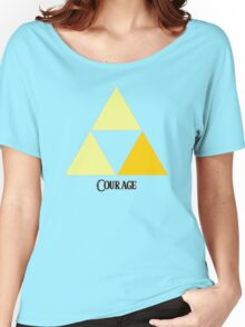 Triforce of Courage Women's Relaxed Fit T-Shirt
