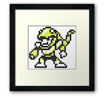 snake man Framed Print