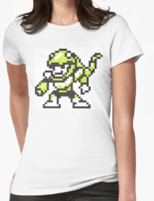snake man Womens Fitted T-Shirt
