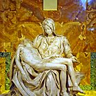 La Pieta, St. Peter's Basilica, The Vatican  by Al Bourassa