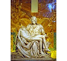 La Pieta, St. Peter's Basilica, The Vatican  Photographic Print