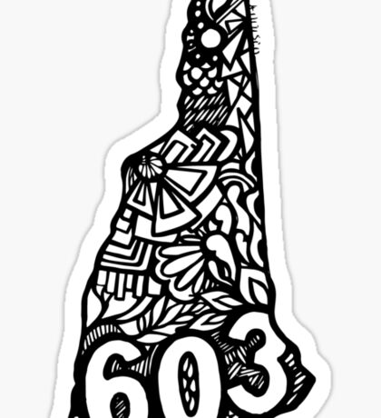 603_NewHampshire Sticker