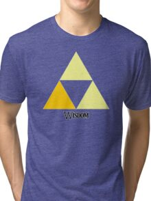 Triforce of Wisdom Tri-blend T-Shirt