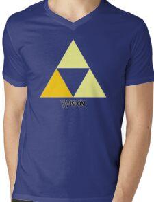 Triforce of Wisdom Mens V-Neck T-Shirt