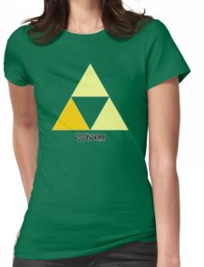 Triforce of Wisdom Womens Fitted T-Shirt
