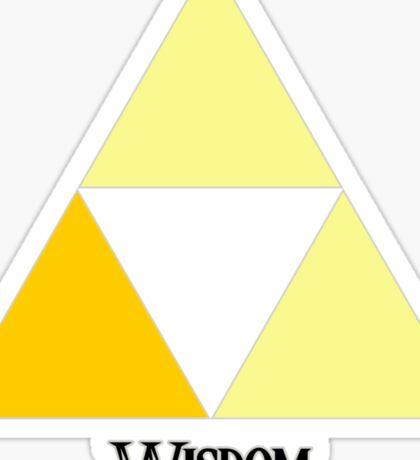 Triforce of Wisdom Sticker