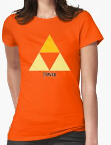 Triforce of Power Womens Fitted T-Shirt