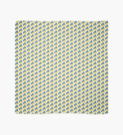 Python Logo Tile Print Scarf