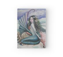 Mermaid sprite water fairy fantasy tote bag Hardcover Journal