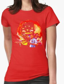 Imagine your worst nightmare: machines take over the world! Womens Fitted T-Shirt